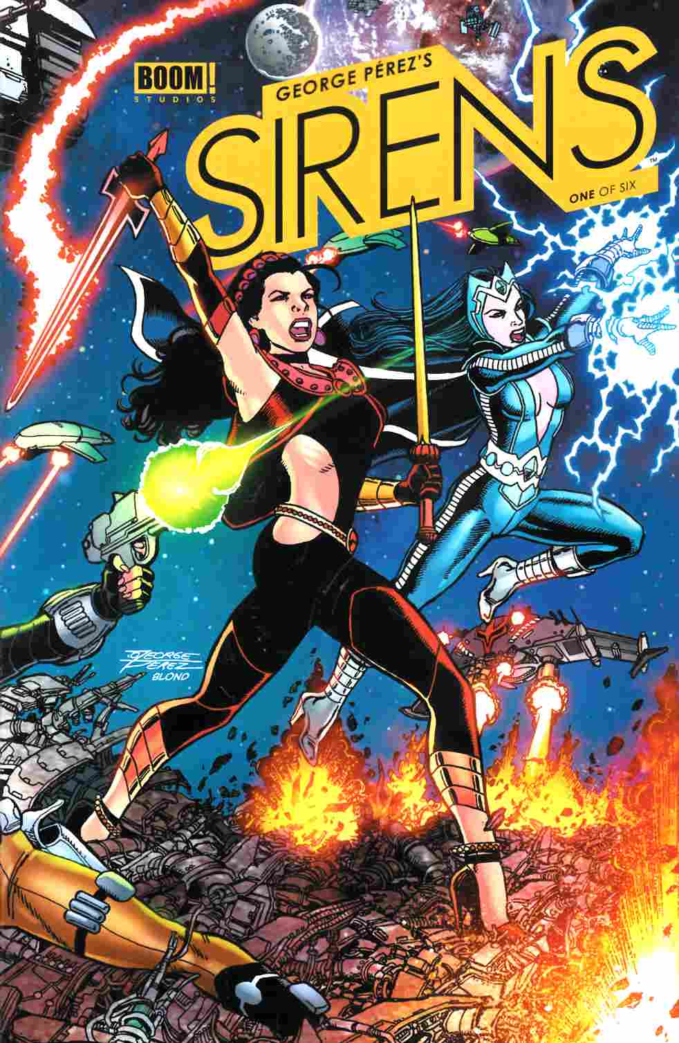 George Perez Sirens #1 Cover A [Comic]