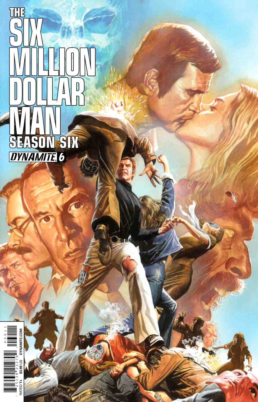 Six Million Dollar Man Season 6 #6 Ross Cover [Cover] LARGE