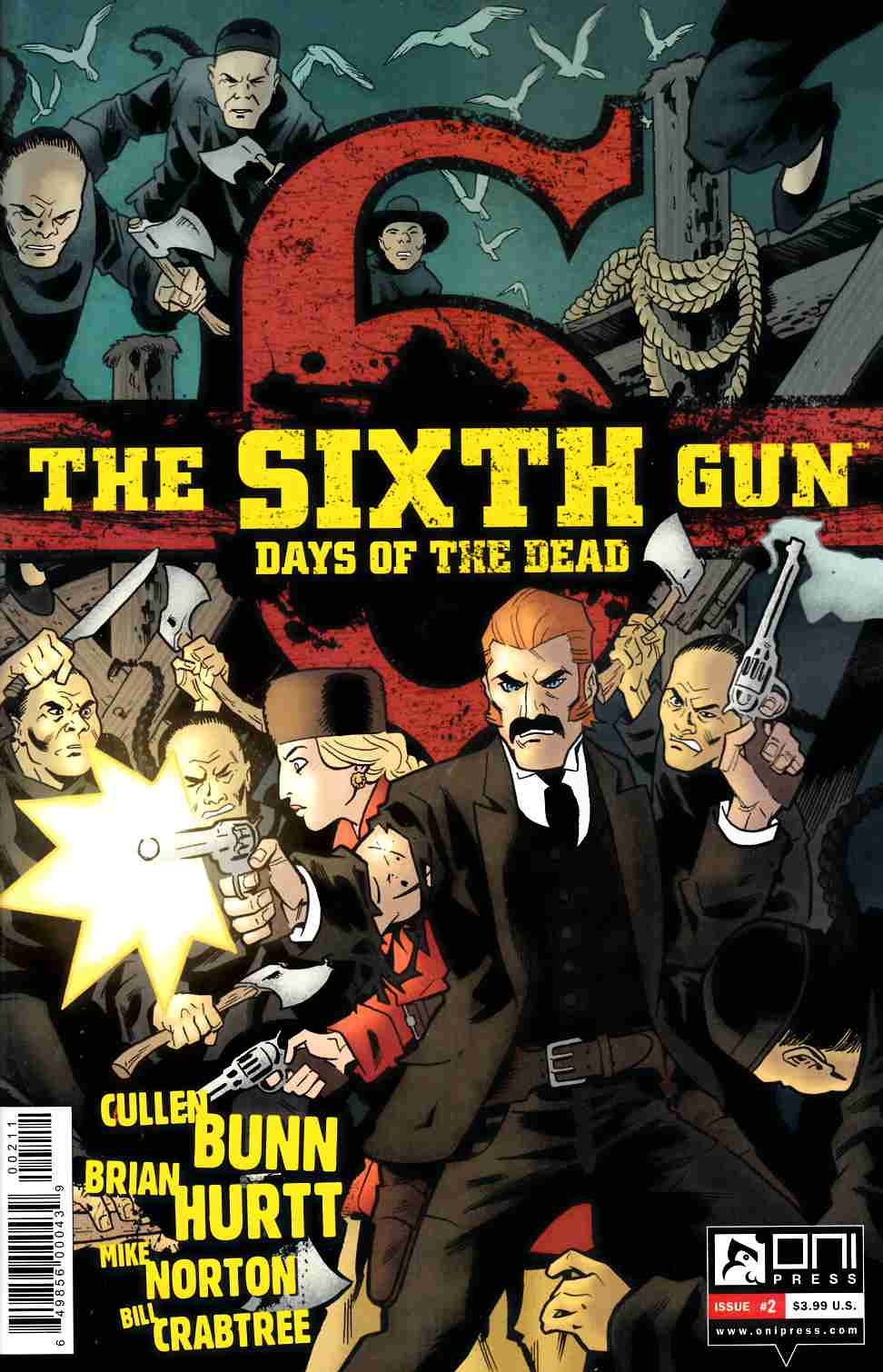 Sixth Gun Days Of The Dead #2 [Comic]