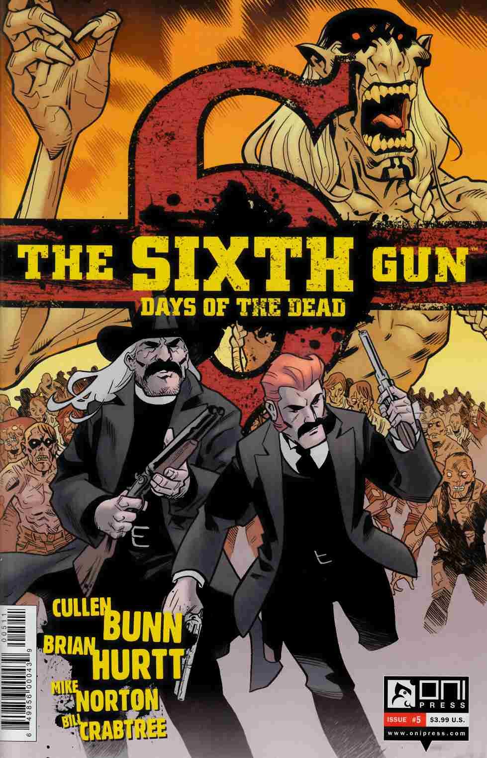 Sixth Gun Days of the Dead #5 [Oni Press Comic]