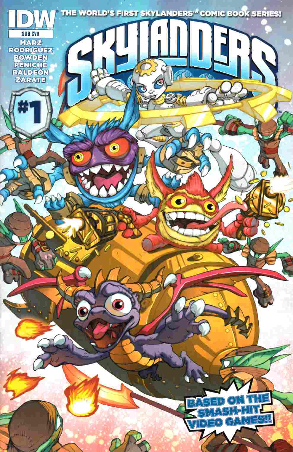 Skylanders #1 Subscription Cover [IDW Comic]_THUMBNAIL