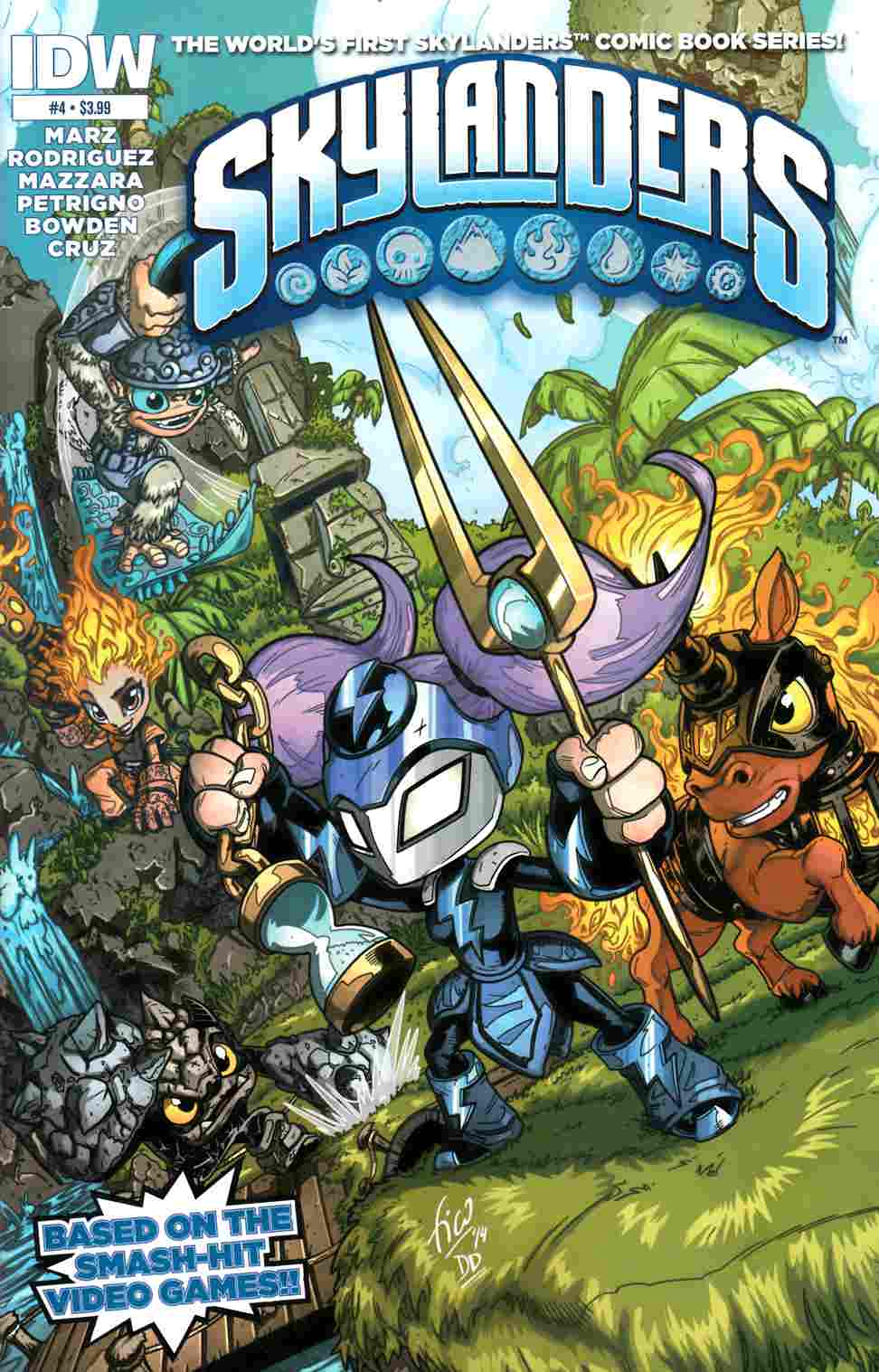 Skylanders #4 [IDW Comic] LARGE