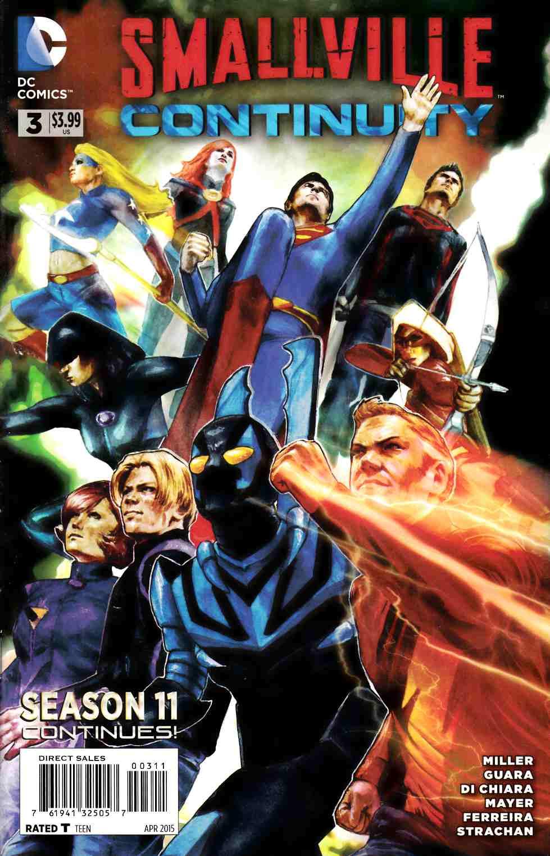 Smallville Season 11 Continuity 3 Dc Comic