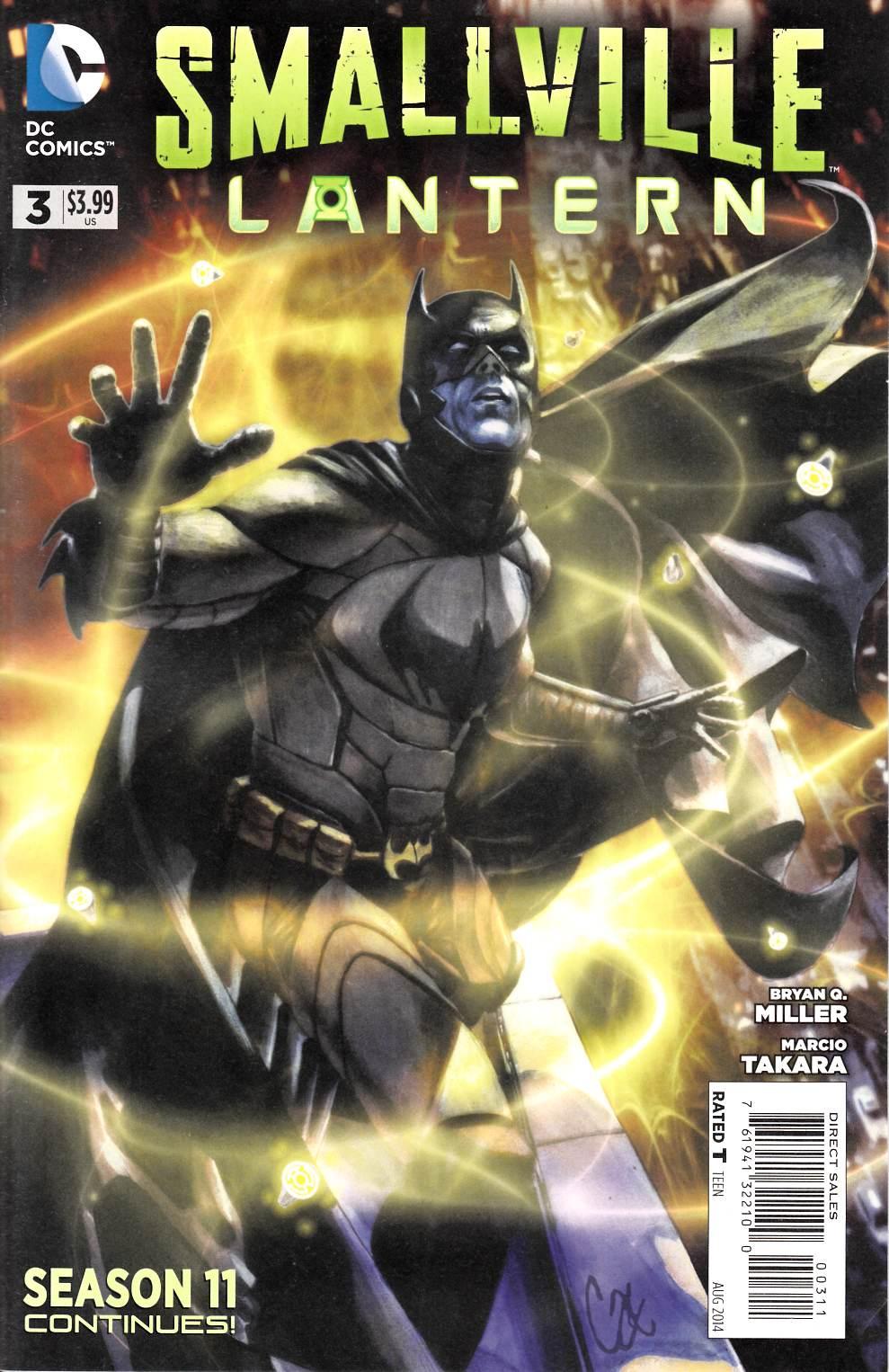 Smallville Season 11 Lantern 3 Comic