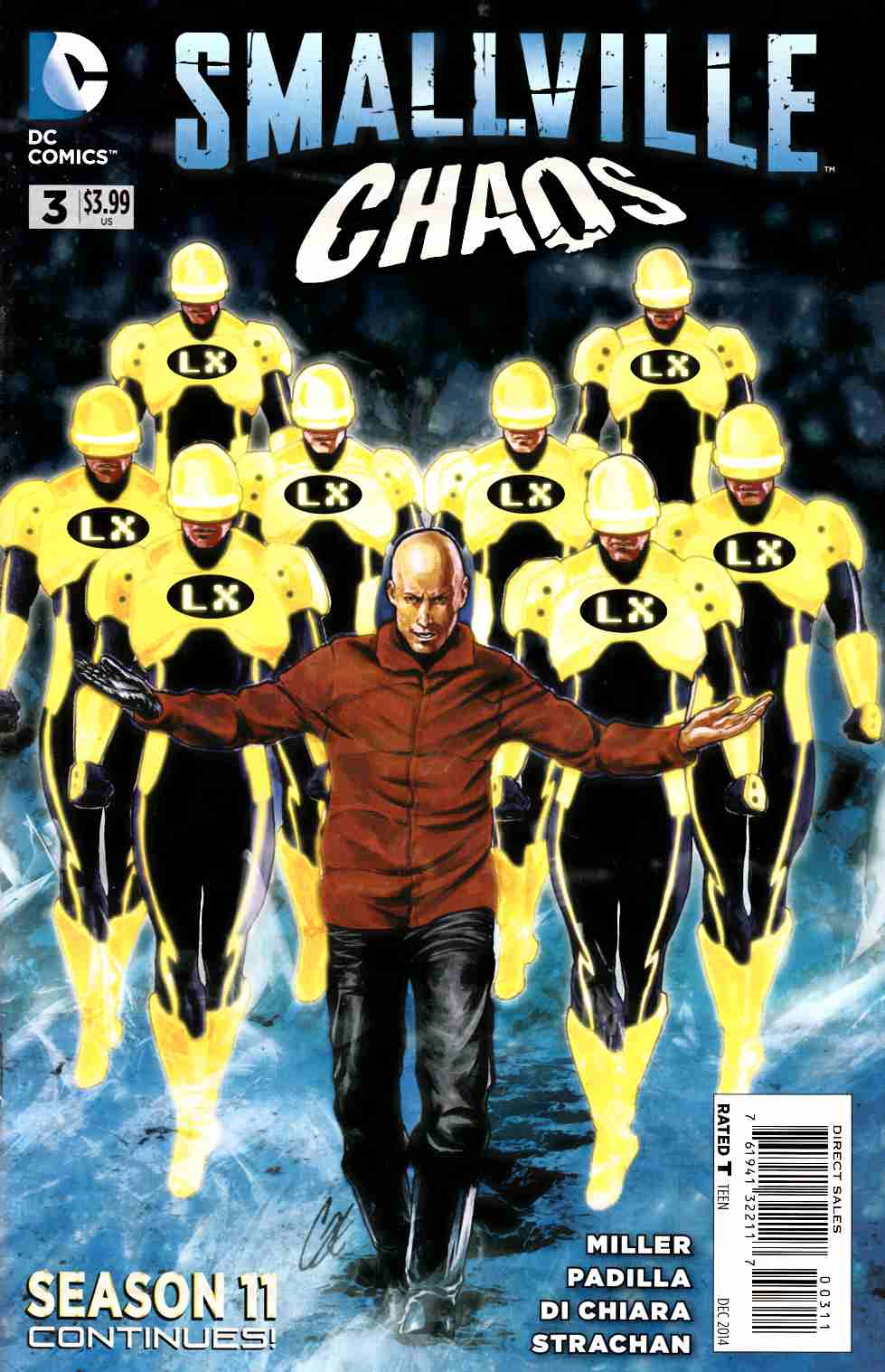 Smallville Season 11 Chaos #3 [Comic] LARGE