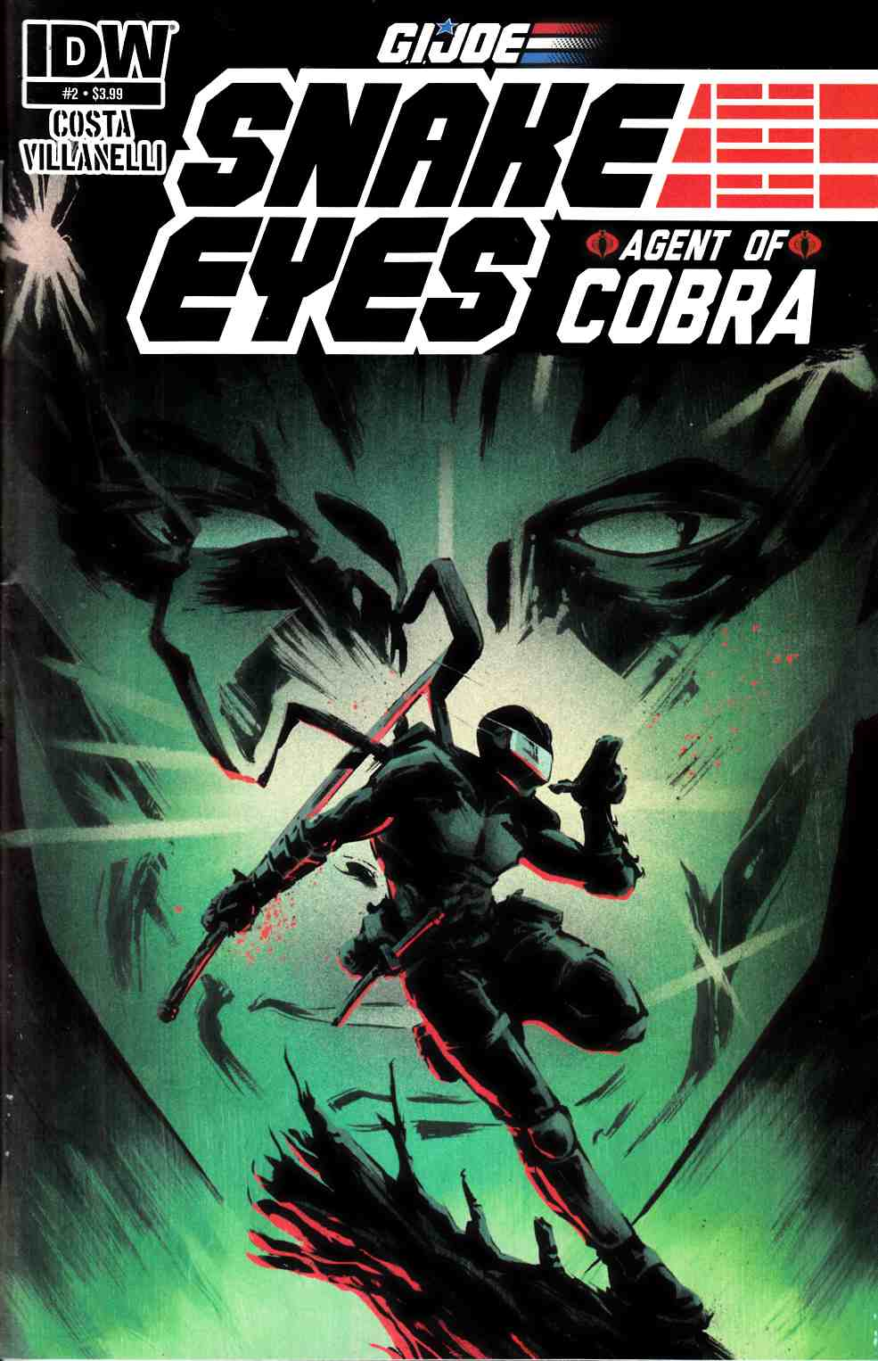 GI Joe Snake Eyes Agent of Cobra #2 [IDW Comic]