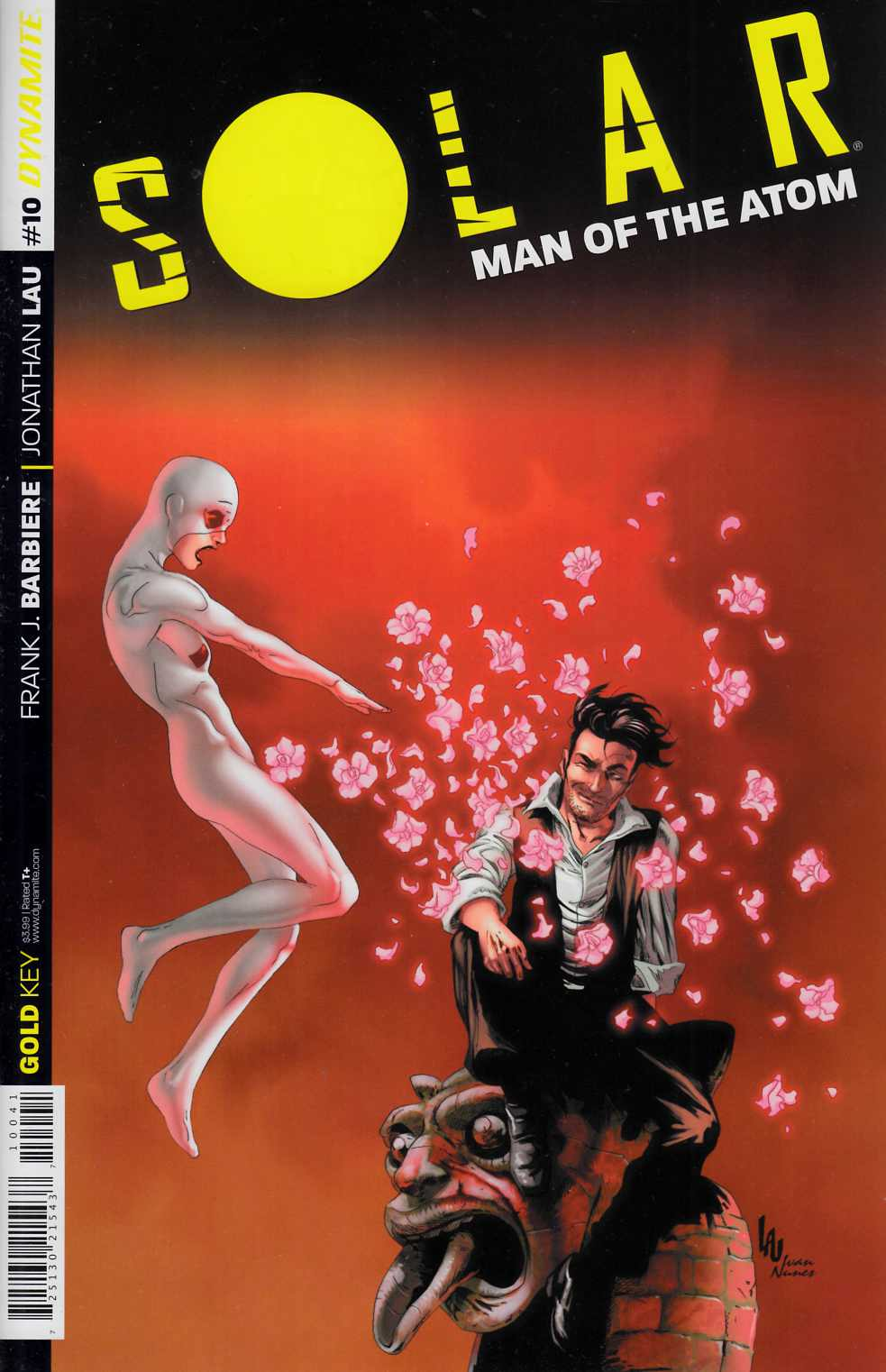 Solar Man of Atom #10 Cover B- Lau [Dynamite Comic]_THUMBNAIL