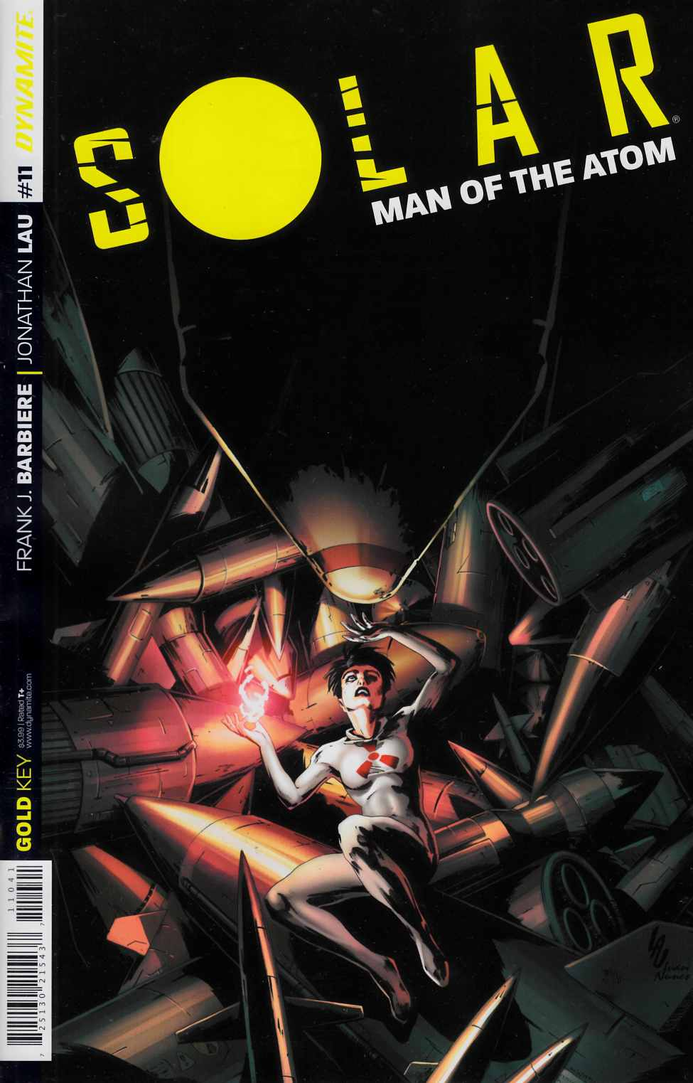 Solar Man of Atom #11 Cover B- Lau Subscription [Dynamite Comic]_THUMBNAIL