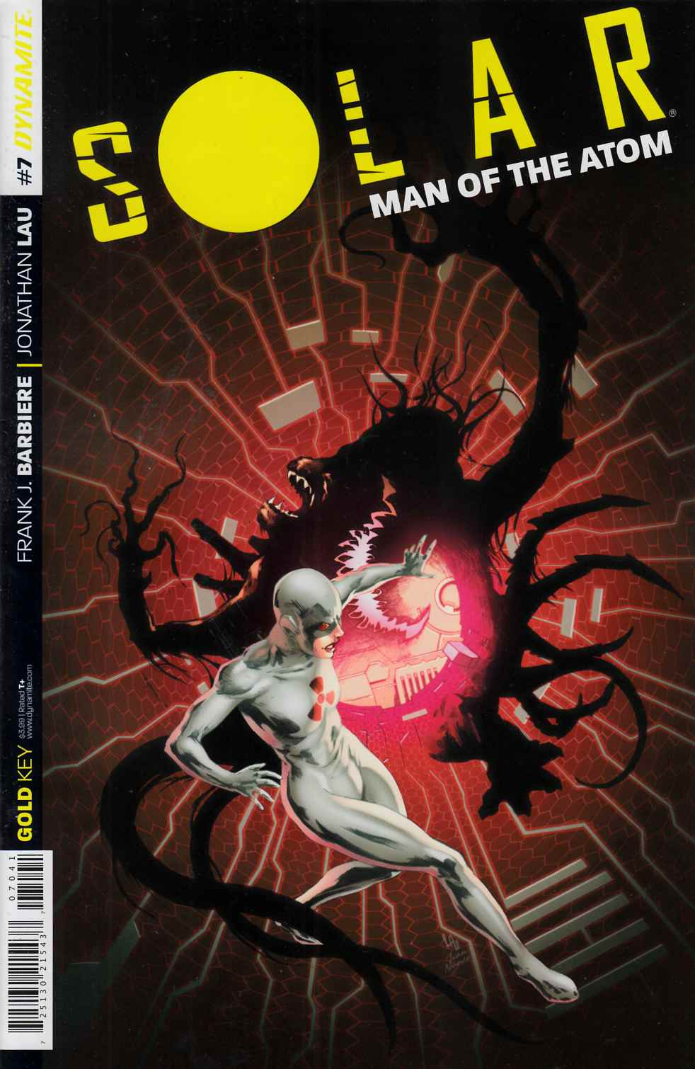 Solar Man of the Atom #7 Lau Subscription Cover [Dynamite Comic] THUMBNAIL