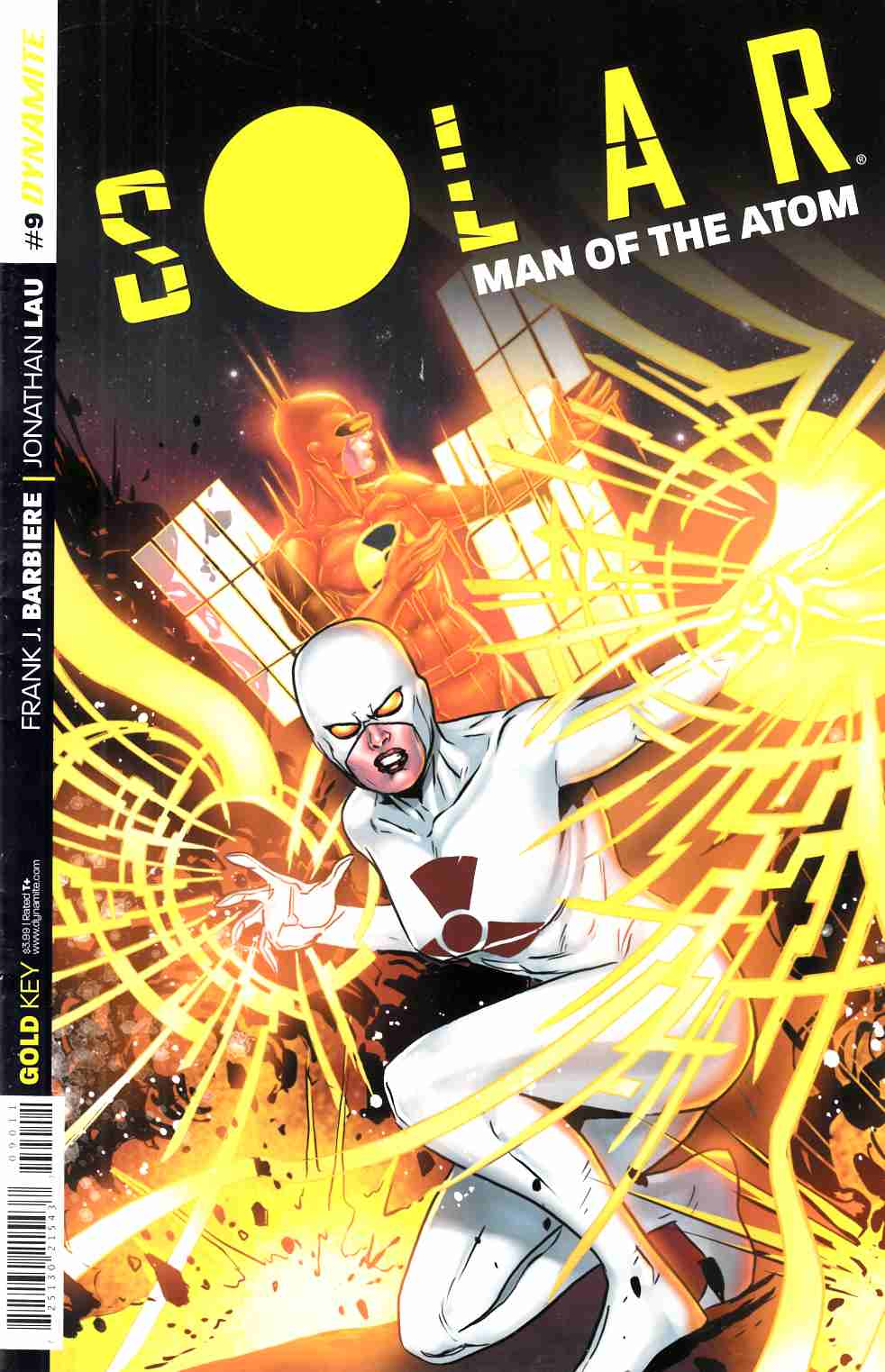 Solar Man of Atom #9 Cover A- Laming [Dynamite Comic]_THUMBNAIL
