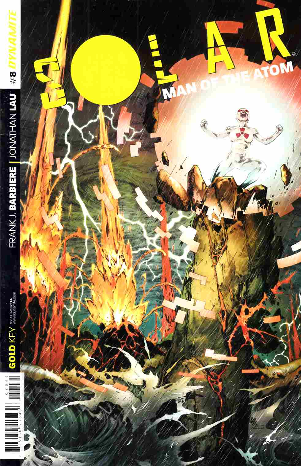 Solar Man of Atom #8 Cover B- Lau Subscription [Dynamite Comic]_THUMBNAIL