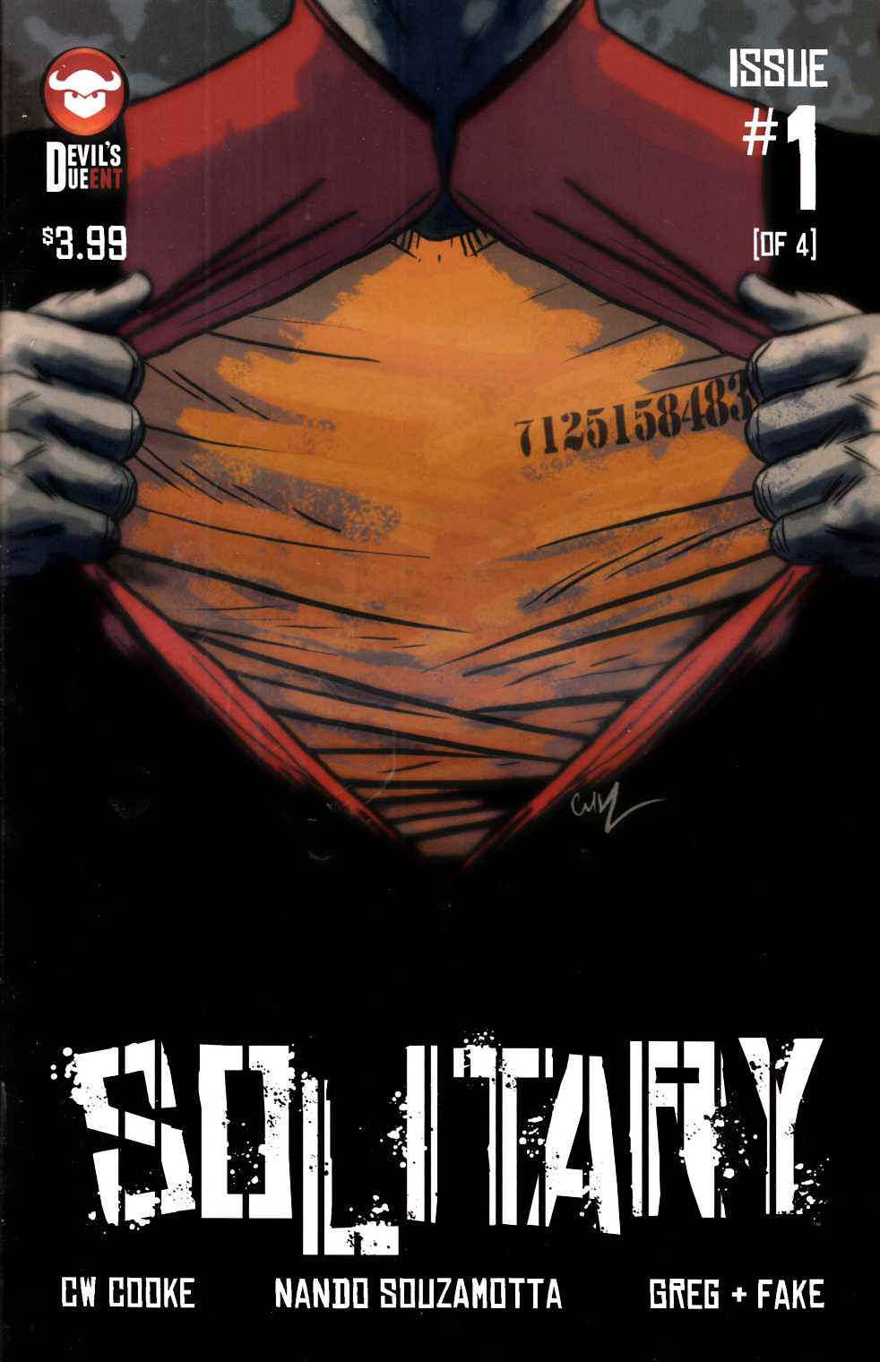 Solitary #1 [Devils Due Comic] THUMBNAIL