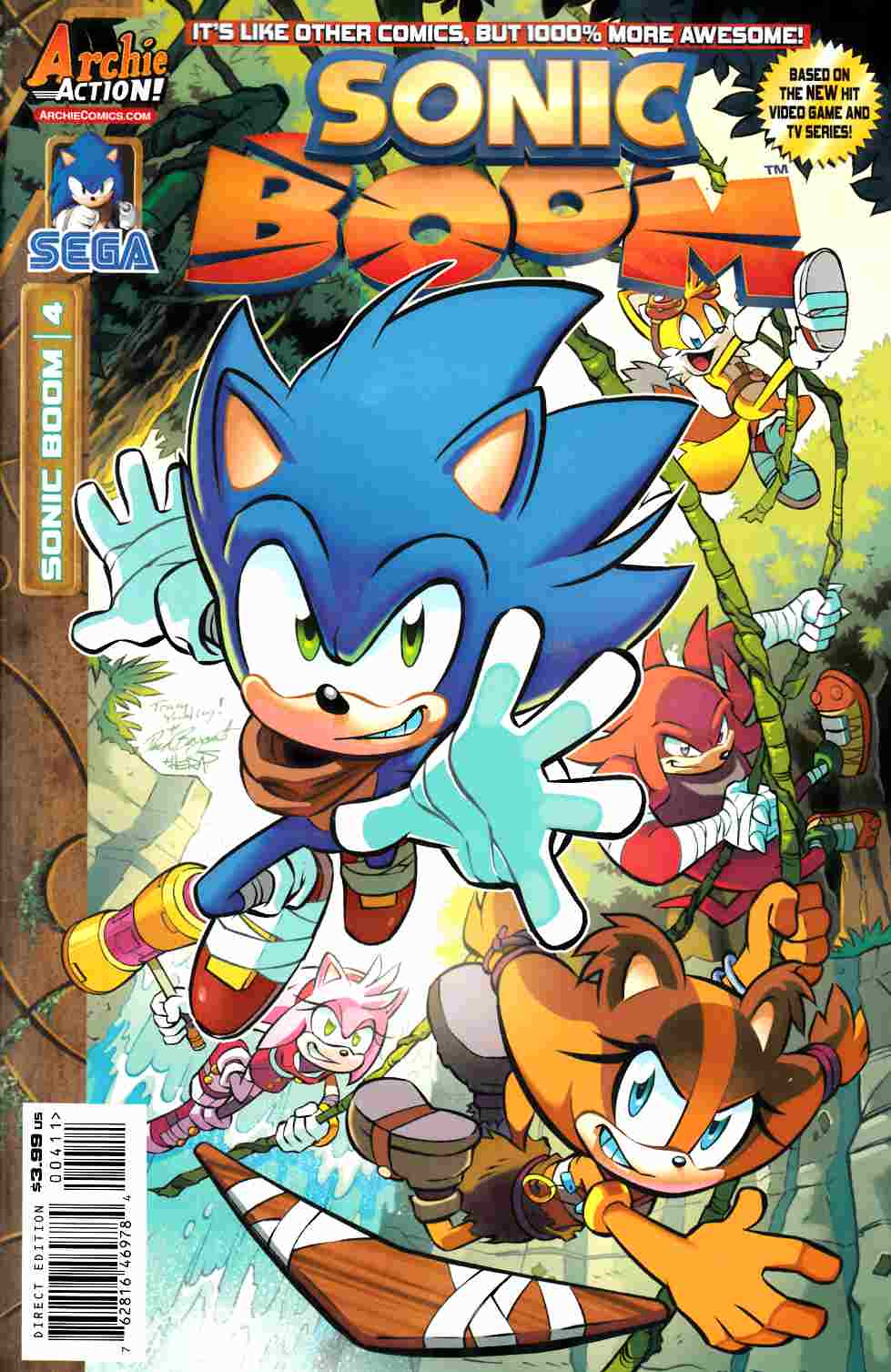 Sonic Boom #4 [Archie Comic] THUMBNAIL