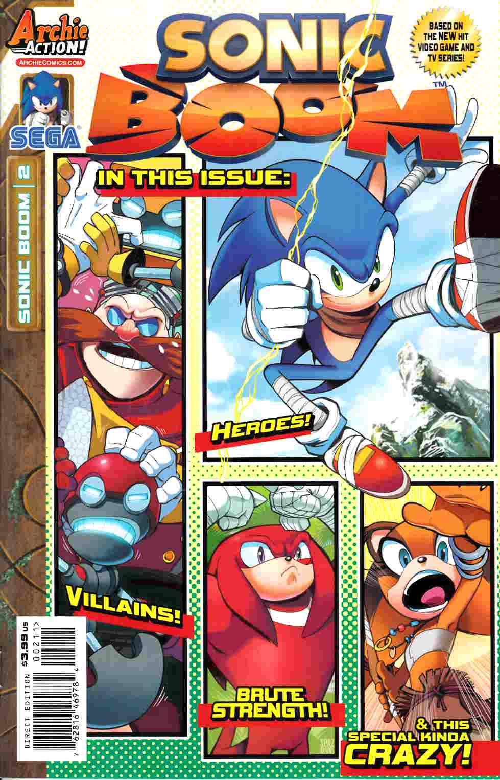 Sonic Boom #2 [Archie Comic] THUMBNAIL