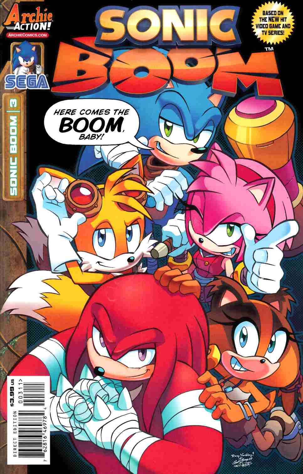 Sonic Boom #3 [Archie Comic] THUMBNAIL