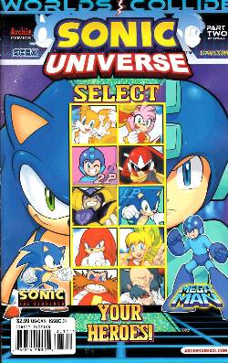 Sonic Universe #51 Regular Cover [Comic] LARGE