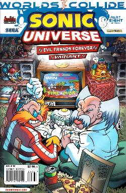 Sonic Universe #53 Evil Friends Forever Variant Cover [Comic] LARGE