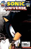 Sonic Universe #59 Shadow Variant Cover [Comic] THUMBNAIL