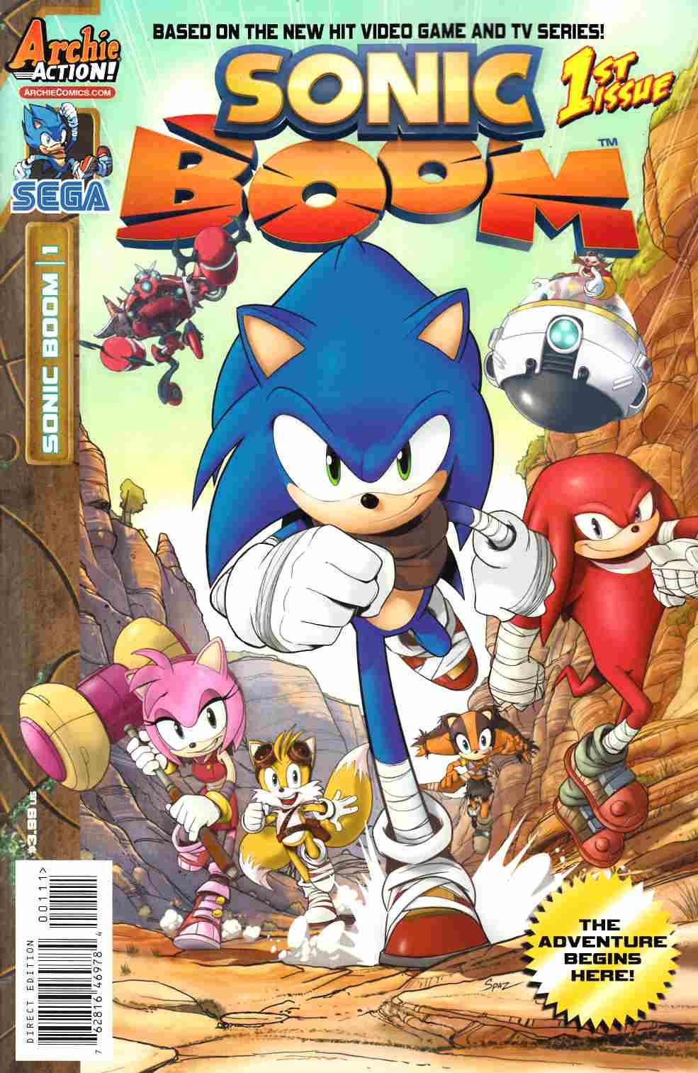 Sonic Boom #1 [Archie Comic] THUMBNAIL