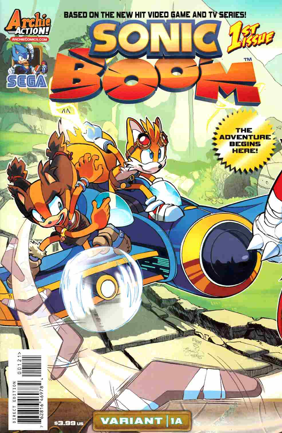 Sonic Boom #1 Here Comes The Boom Part 1 Cover [Comic]