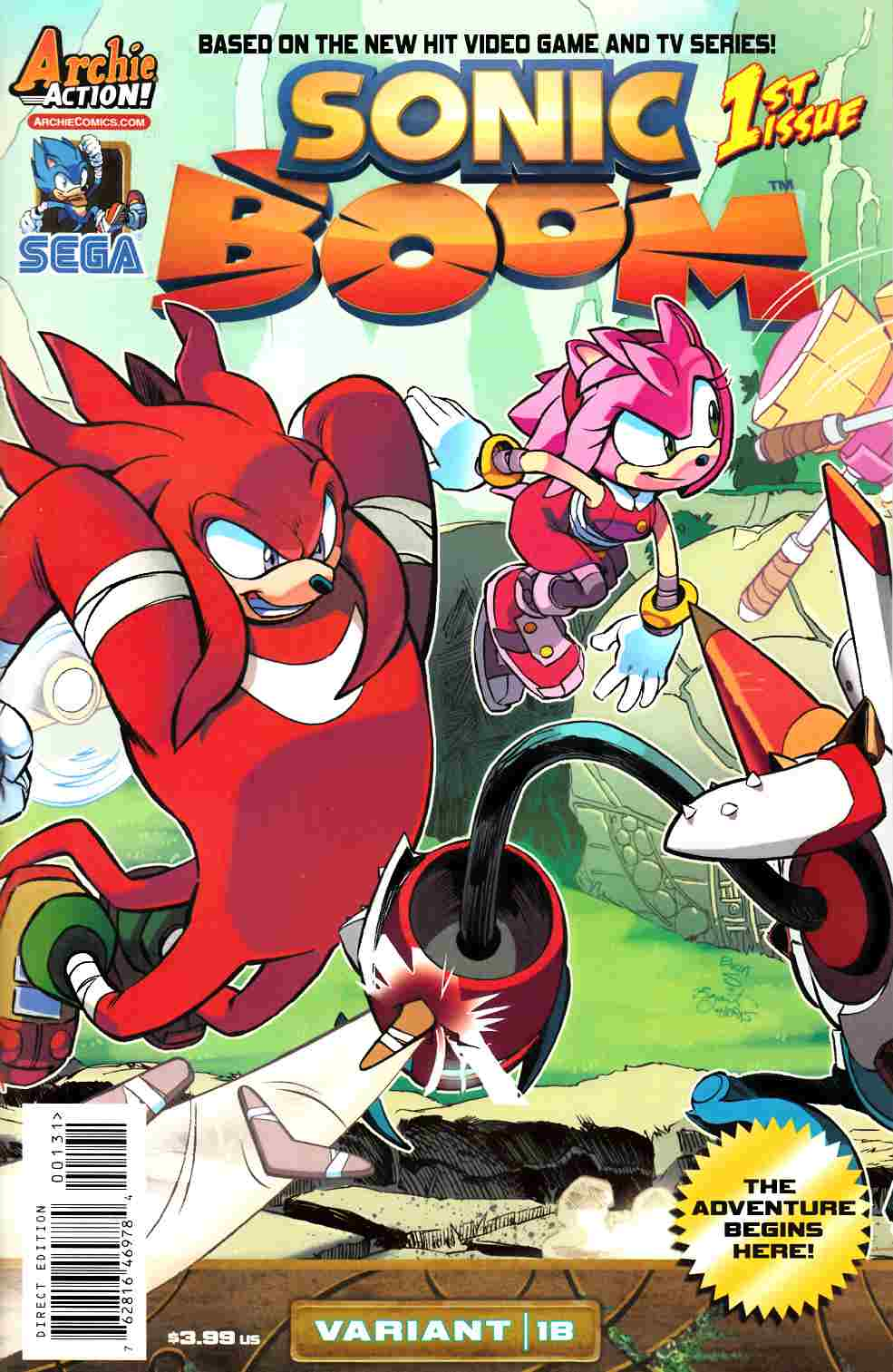 Sonic Boom #1 Here Comes The Boom Part 2 Cover [Comic] THUMBNAIL
