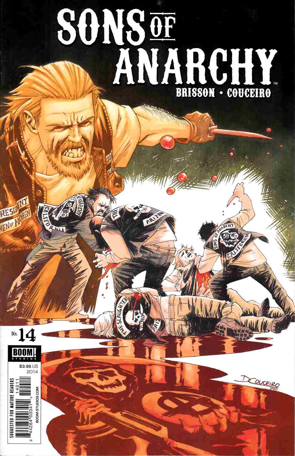 Sons of Anarchy #14 [Boom Comic] THUMBNAIL