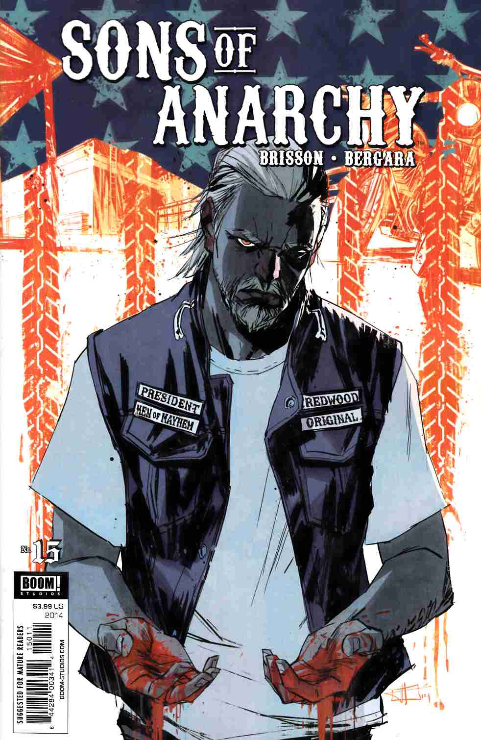 Sons of Anarchy #15 [Boom Comic] THUMBNAIL