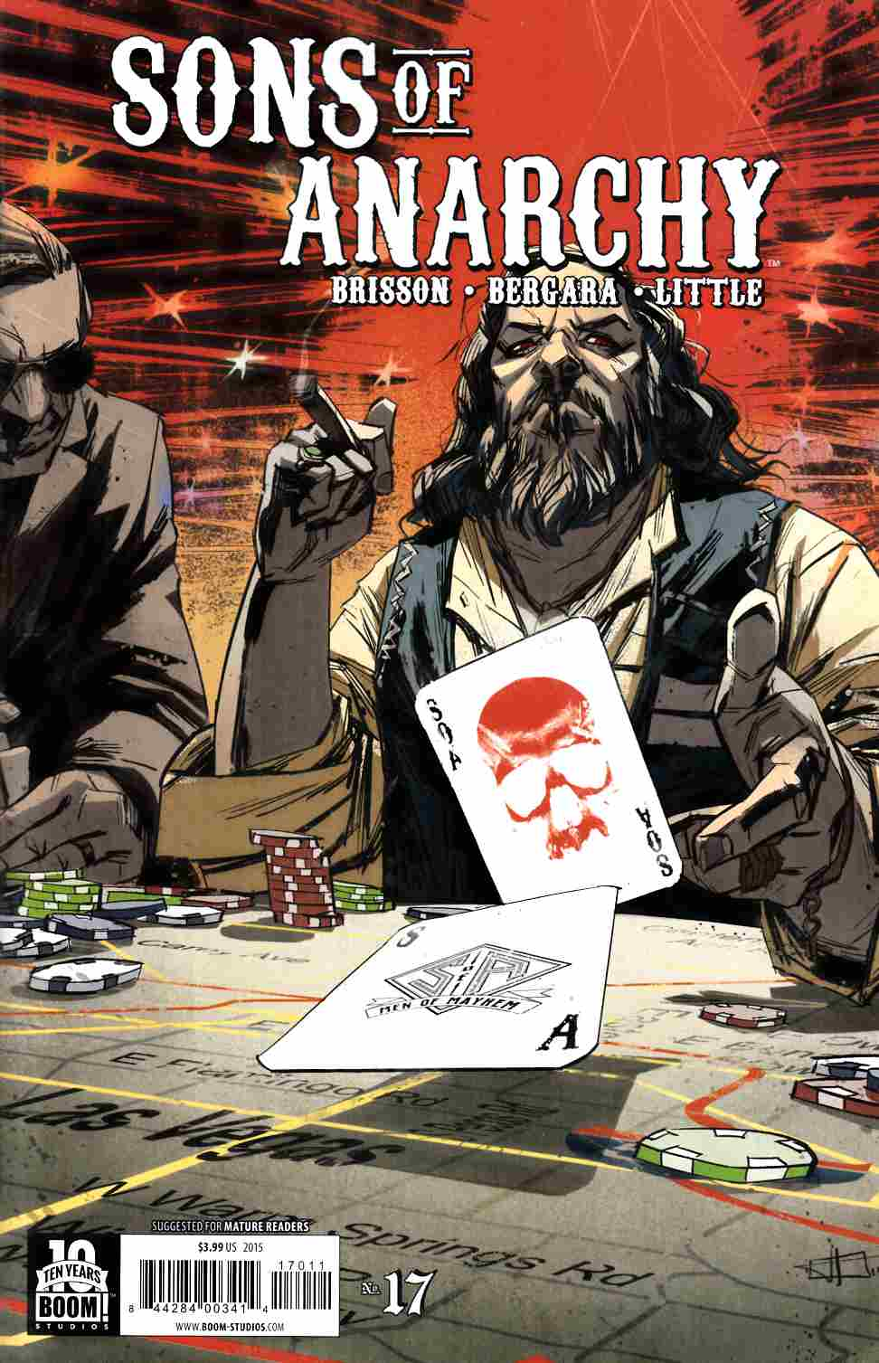 Sons of Anarchy #17 [Boom Comic] THUMBNAIL