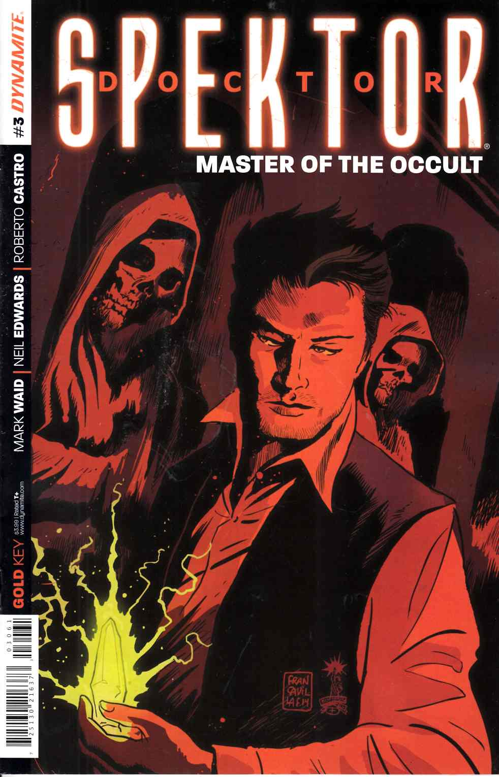 Doctor Spektor #3 Francavilla Subsciption Cover [Comic]