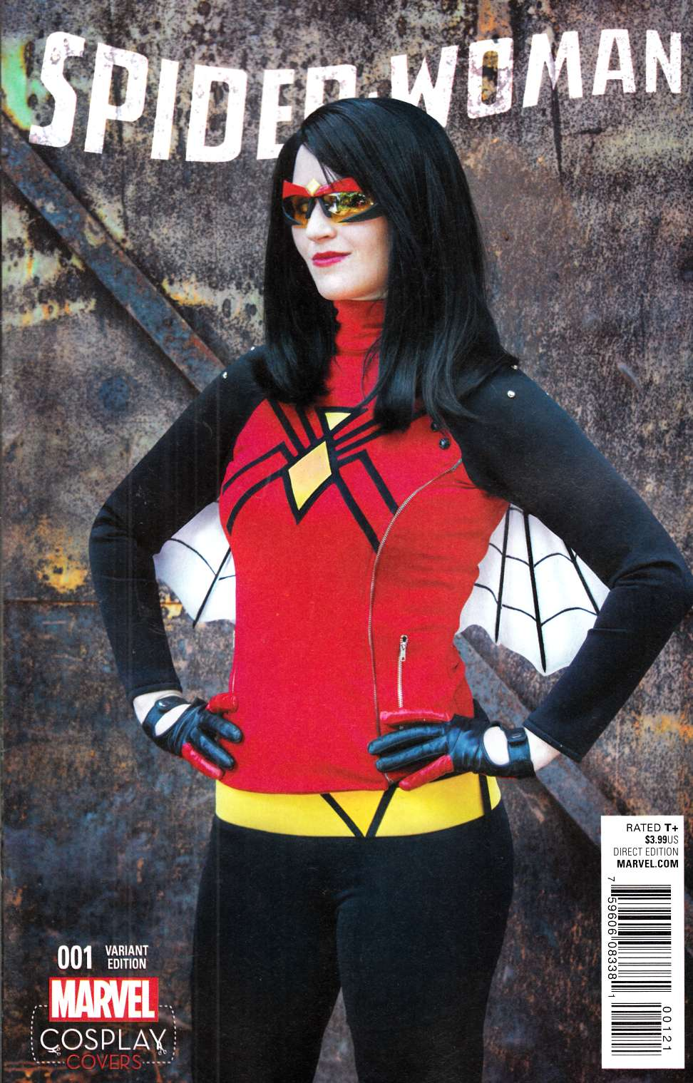 Spider-Woman #1 Cosplay Variant Cover [Marvel Comic] THUMBNAIL