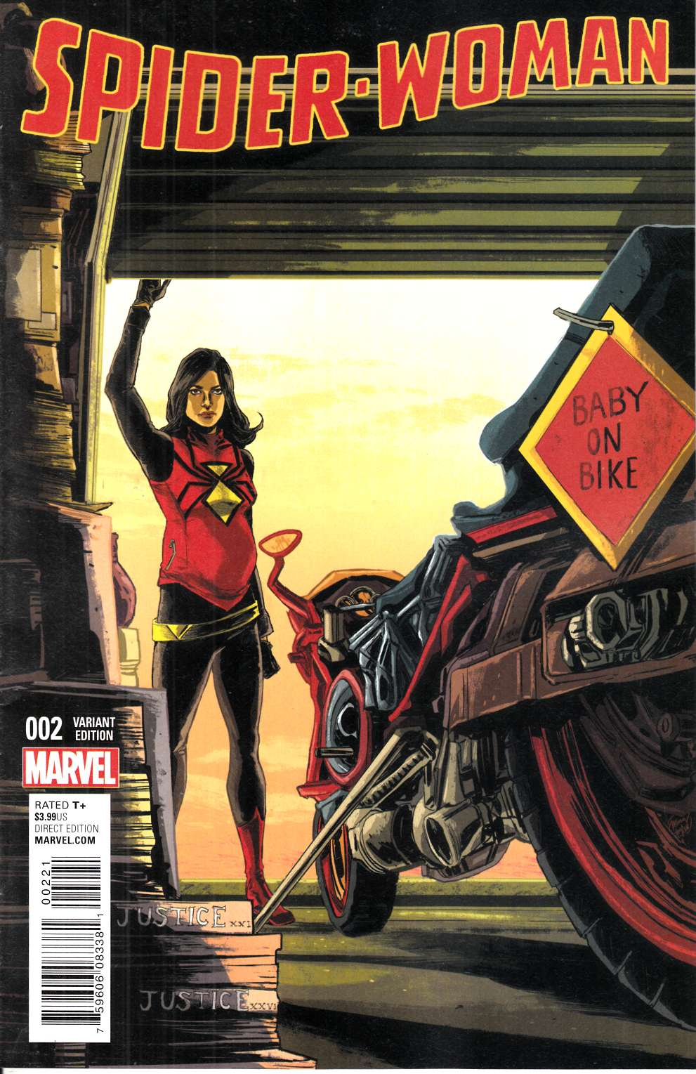 Spider-Woman #2 Doyle Variant [Marvel Comic] THUMBNAIL