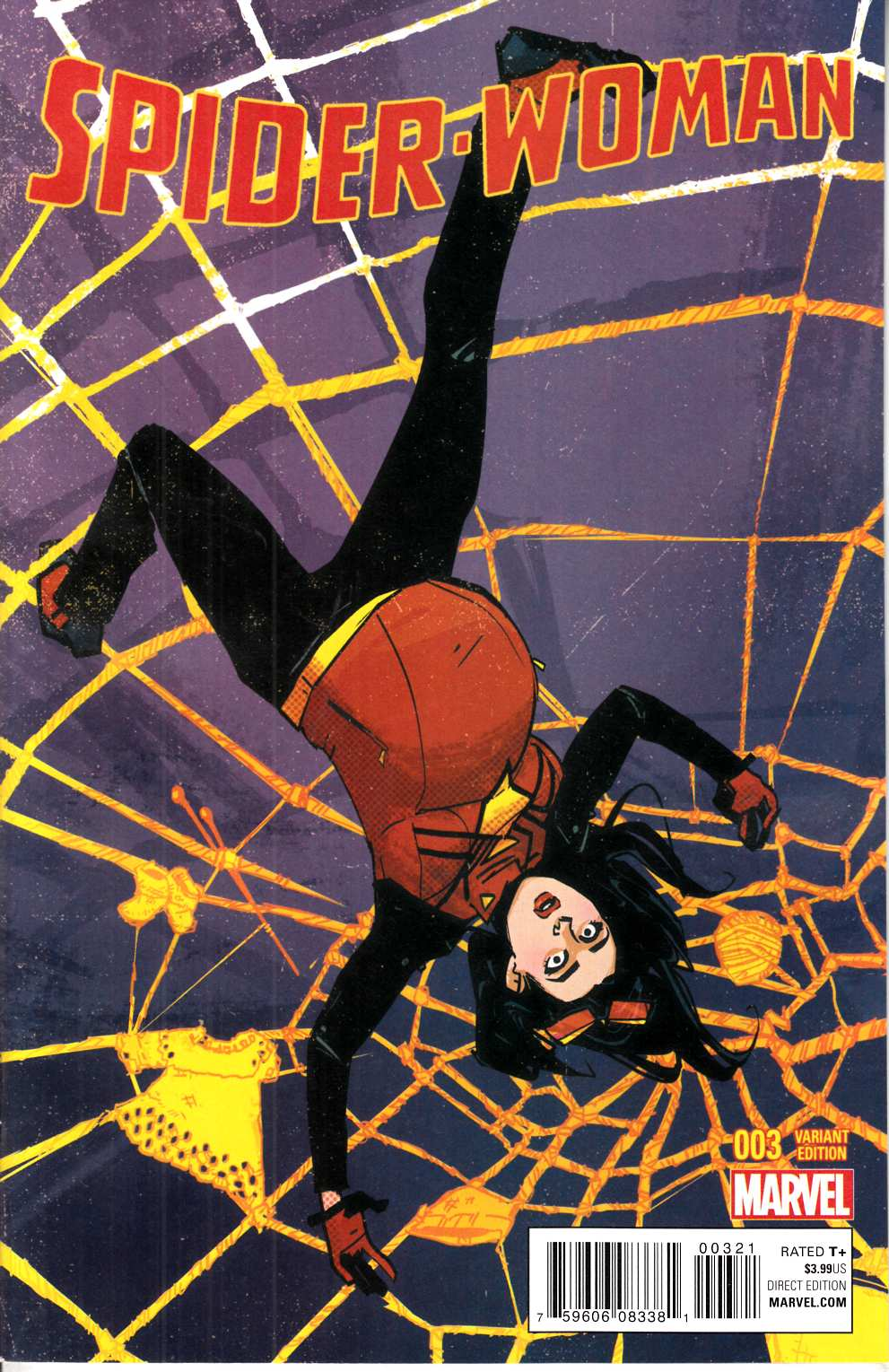 Spider-Woman #3 Wu Variant Cover [Marvel Comic] THUMBNAIL