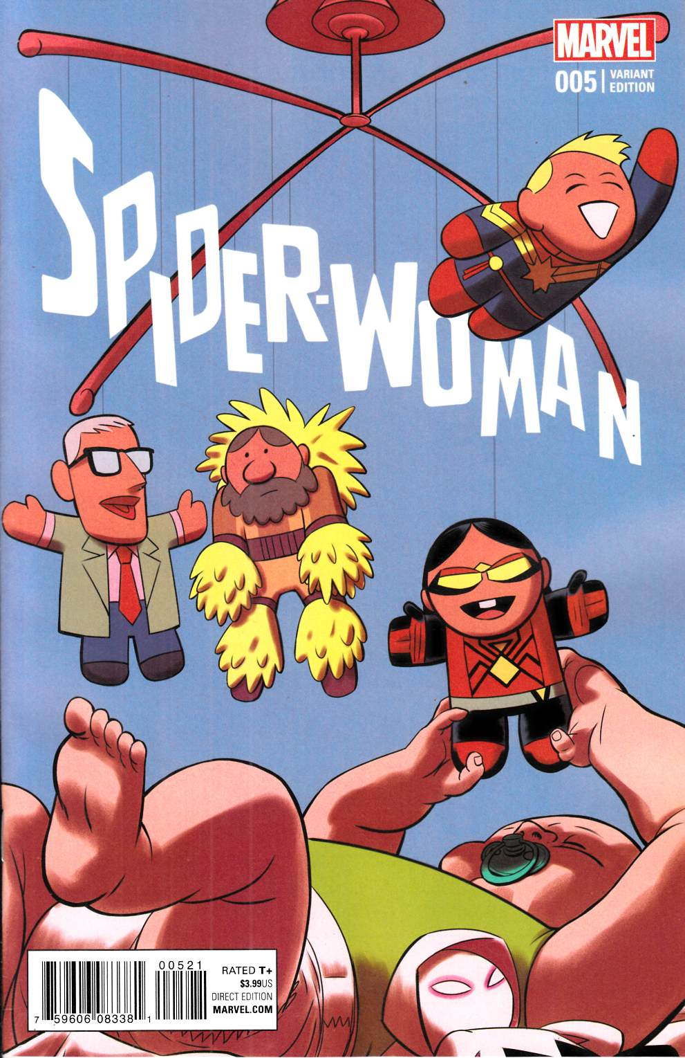 Spider-Woman #5 Rodriguez Variant Cover [Marvel Comic]_THUMBNAIL