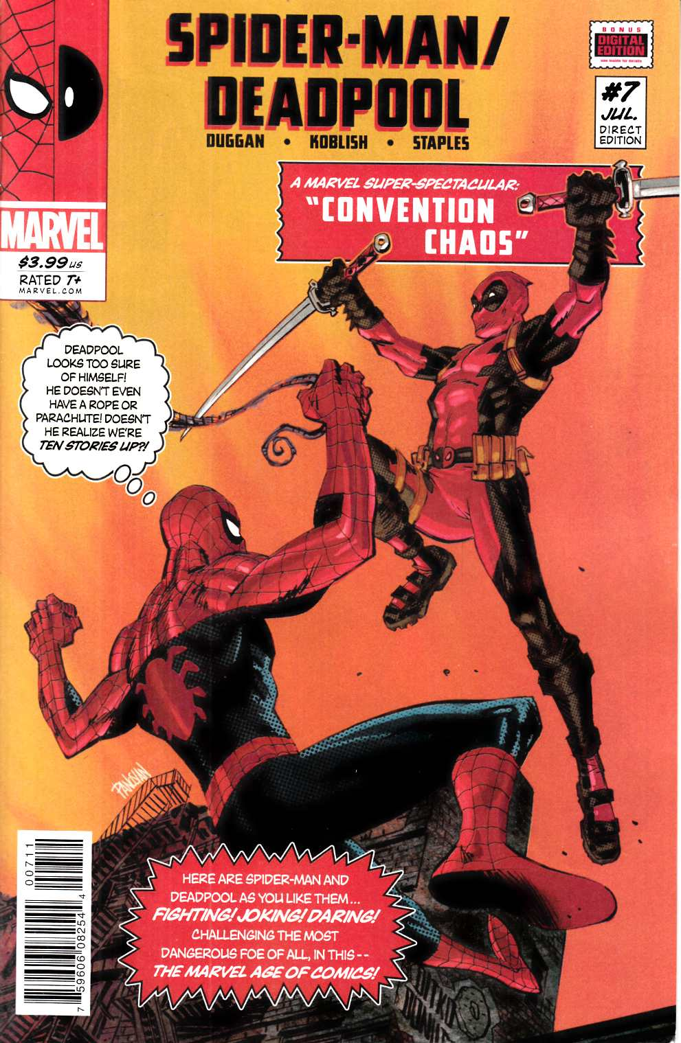 Spider-Man Deadpool #7 [Marvel Comic] THUMBNAIL