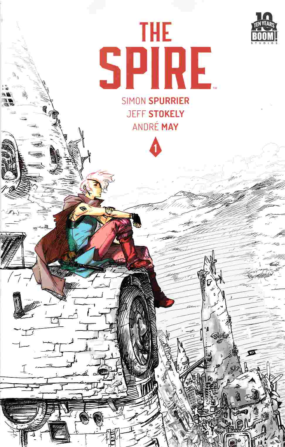 Spire #1 Second Printing [Boom Comic]_THUMBNAIL