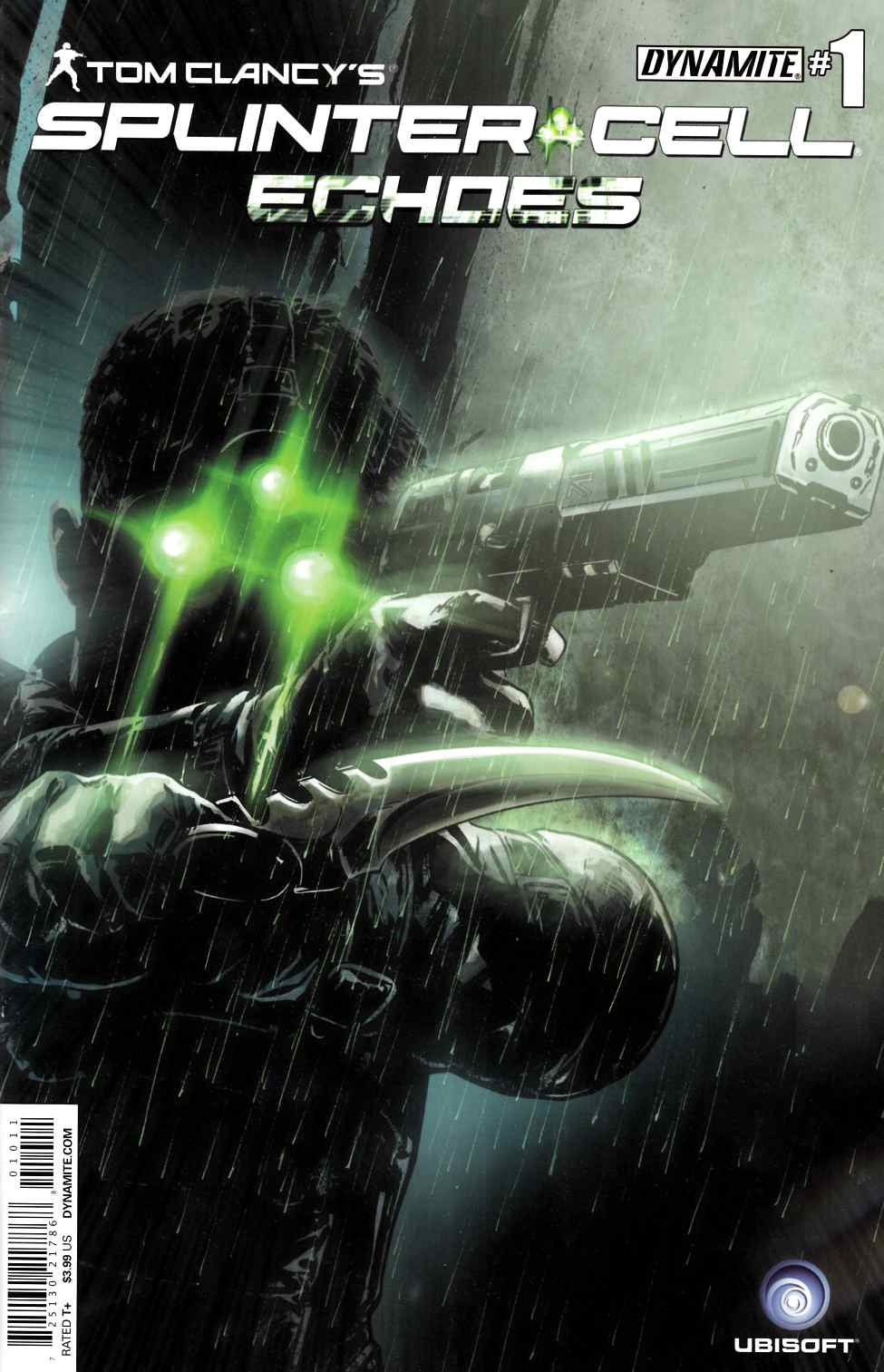 Tom Clancy Splinter Cell Echoes #1 [Comic] THUMBNAIL