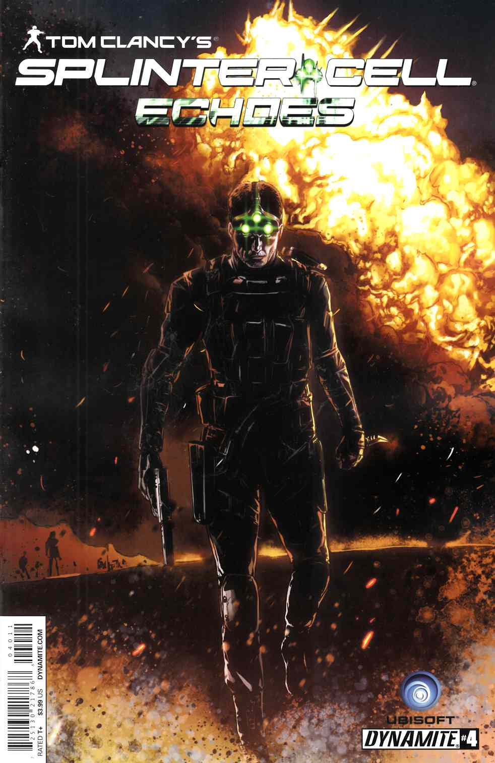 Tom Clancy Splinter Cell Echoes #4 [Comic] THUMBNAIL