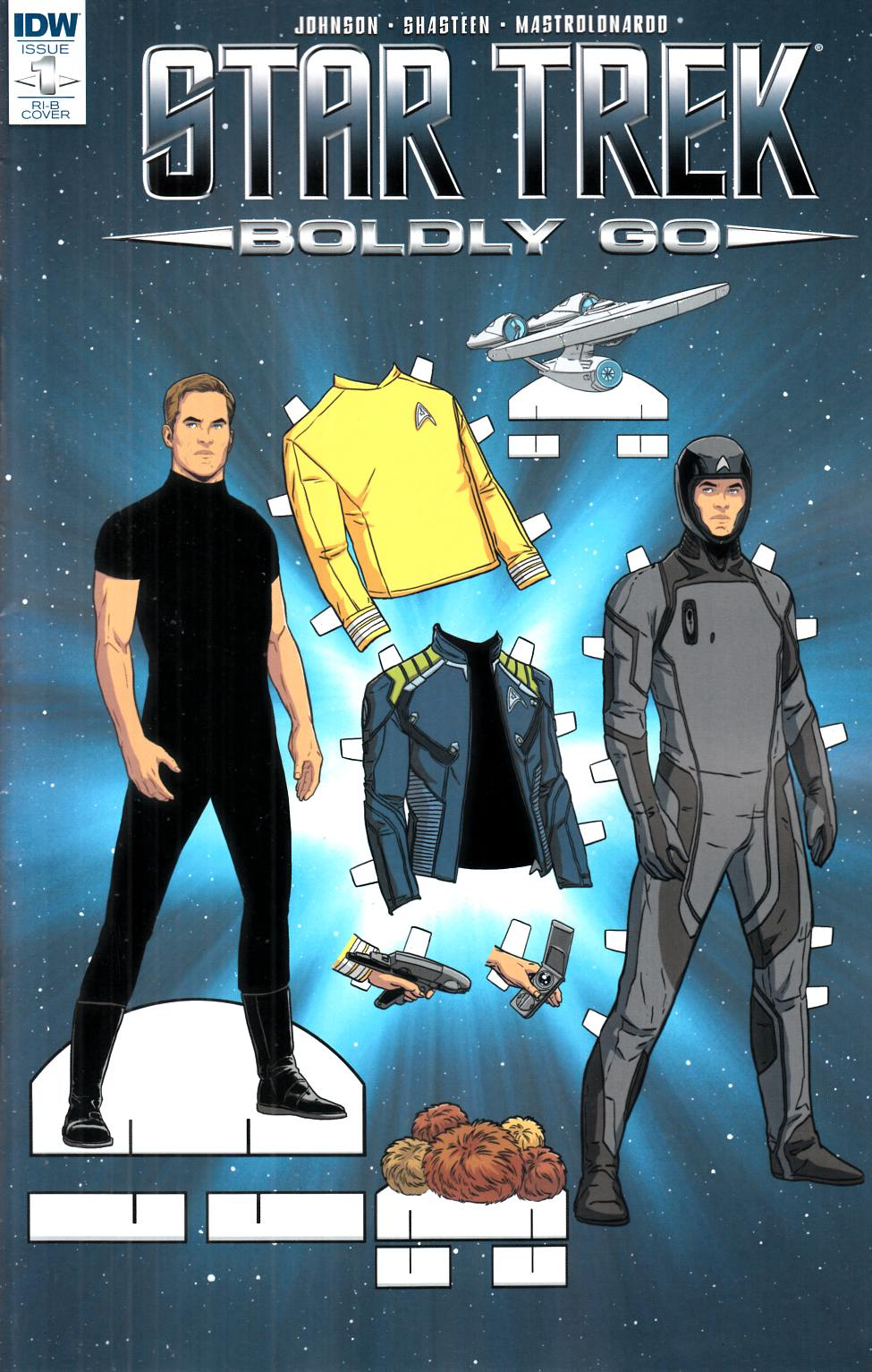 Star Trek Boldly Go #1 Cover RIB [IDW Comic] THUMBNAIL