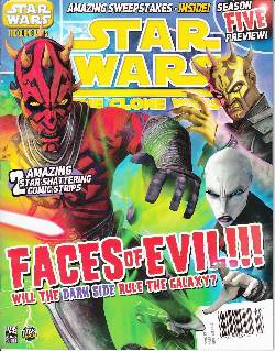 Star Wars Clone Wars Magazine #13 LARGE