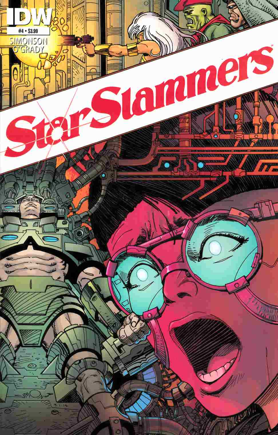 Star Slammers Remastered #4 [Comic] THUMBNAIL