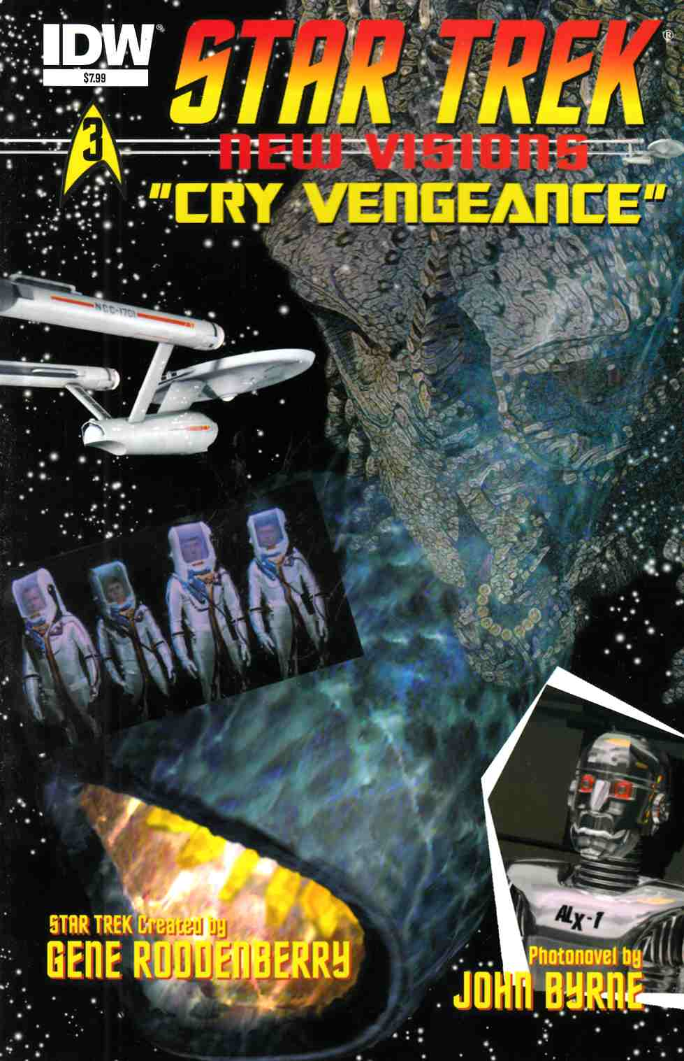 Star Trek New Visions Cry Vengeance (One Shot) [Comic] THUMBNAIL