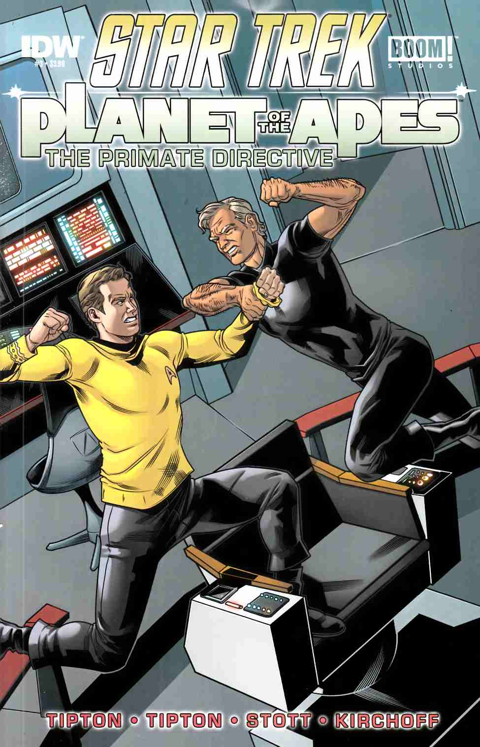Star Trek Planet of the Apes #3 [IDW Comic]