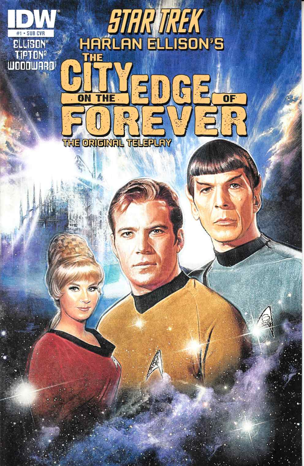 Star Trek City on the Edge of Forever #1 Subscription Cover [Comic]