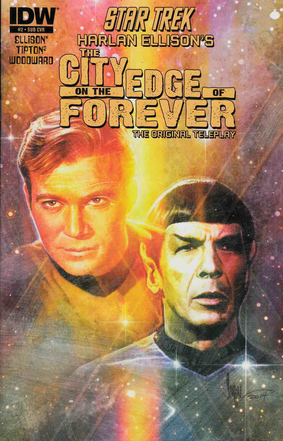 Star Trek City on the Edge of Forever #2 Subscription Cover [Comic]