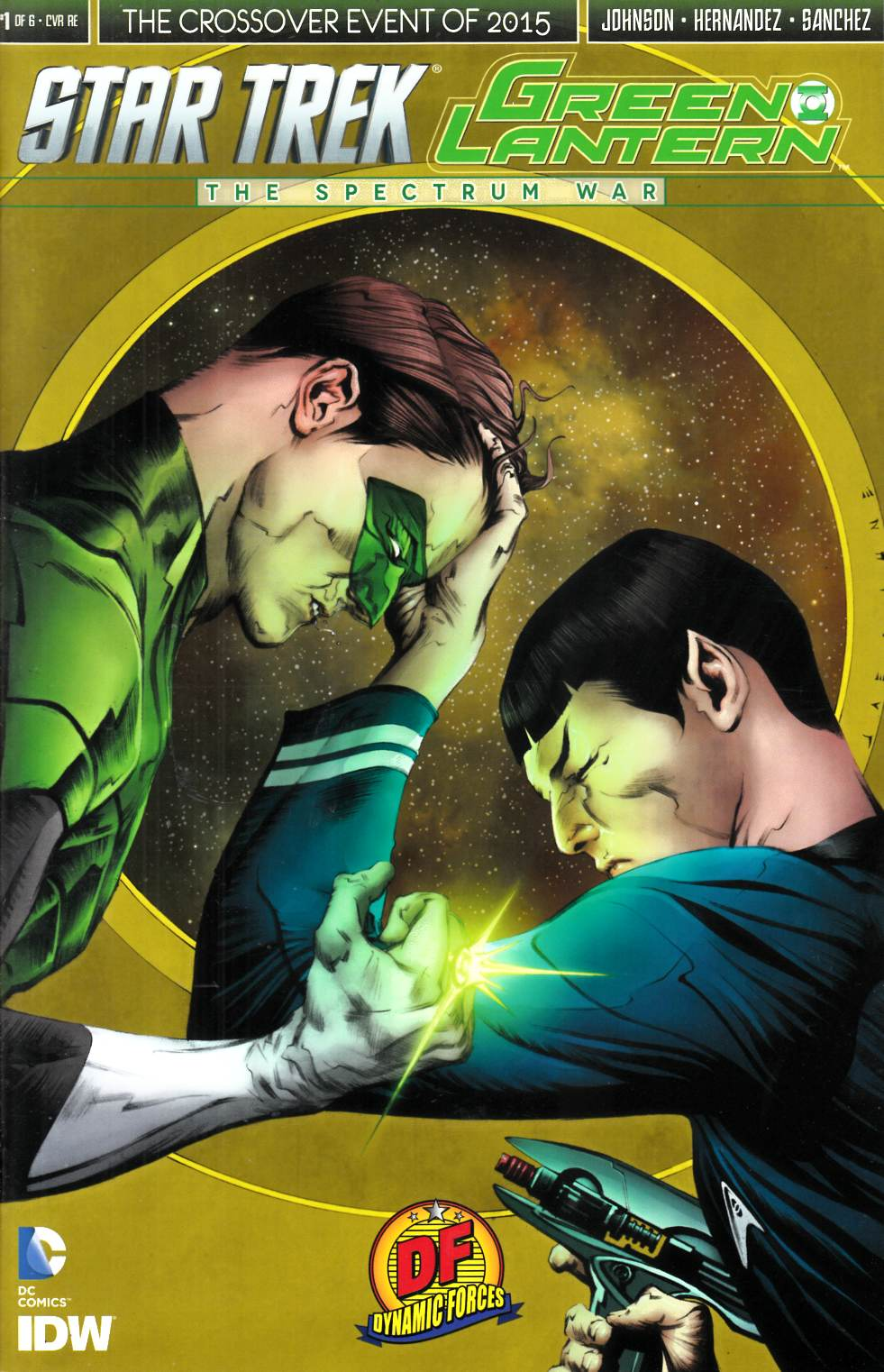 Star Trek Green Lantern #1 DF Exclusive Lee Cover [IDW Comic]