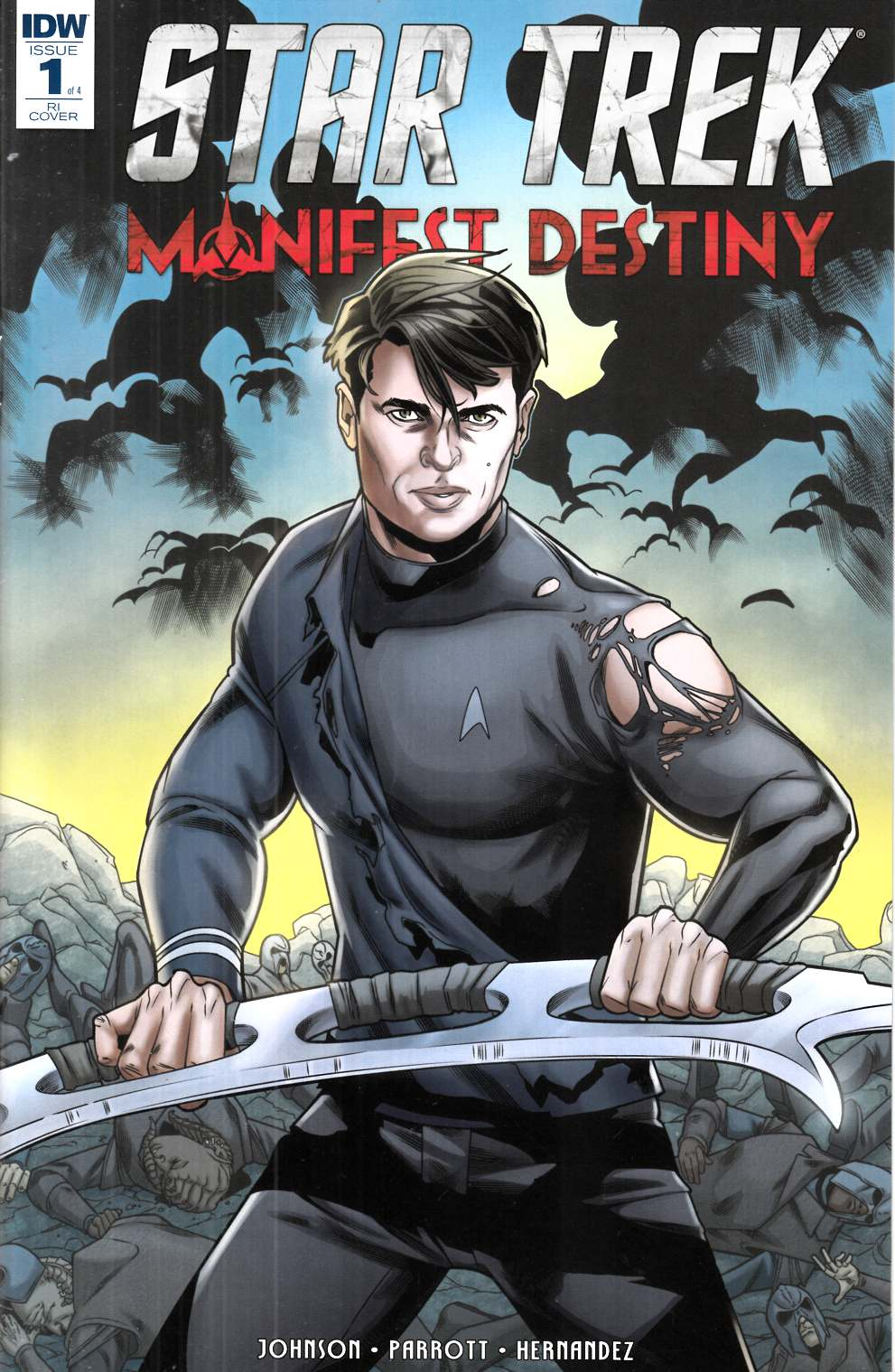 Star Trek Manifest Destiny #3 Cover RI [IDW Comic]_THUMBNAIL