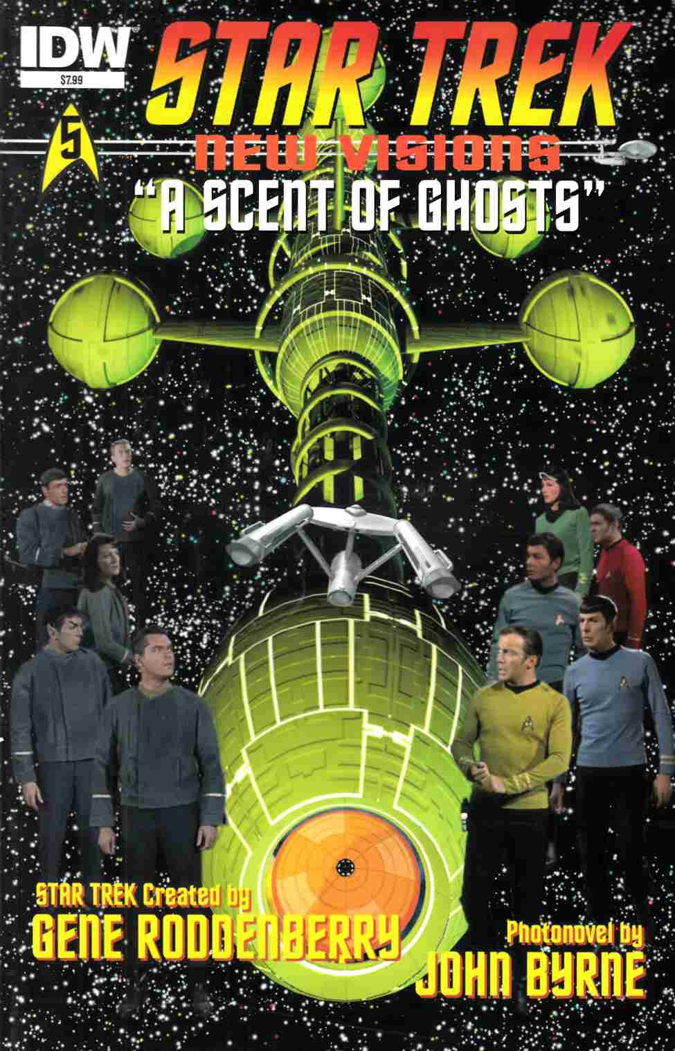 Star Trek New Visions A Scent of Ghosts (One Shot) [IDW Comic] THUMBNAIL