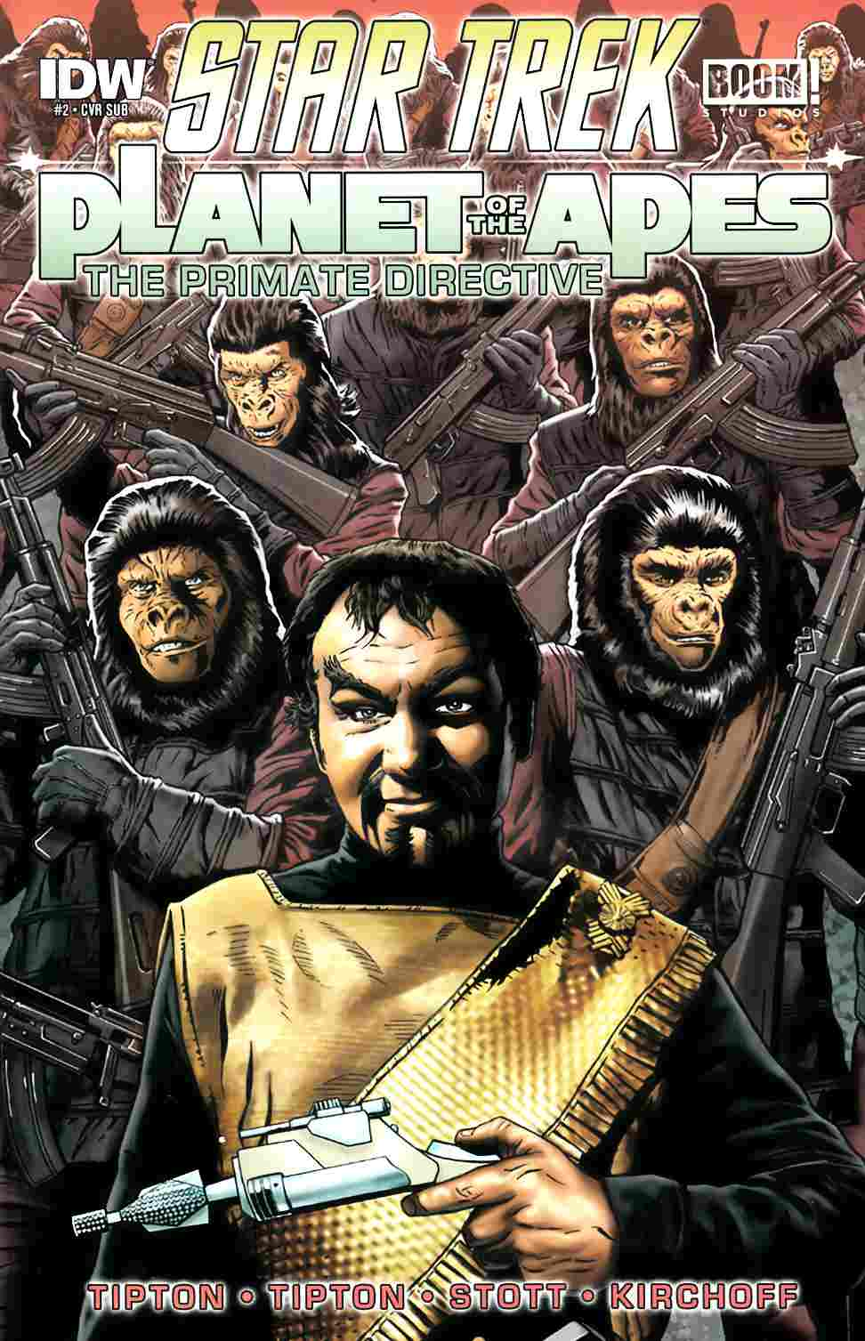 Star Trek Planet of the Apes #2 [IDW Comic] LARGE