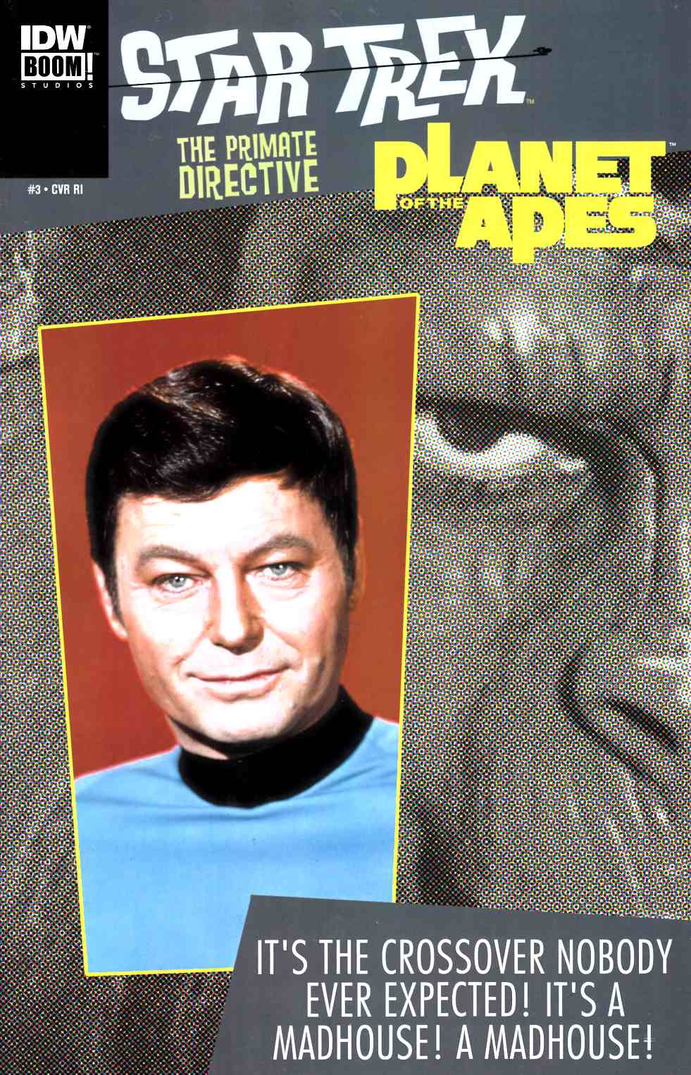 Star Trek Planet of the Apes #3 Cover RI [IDW Comic]