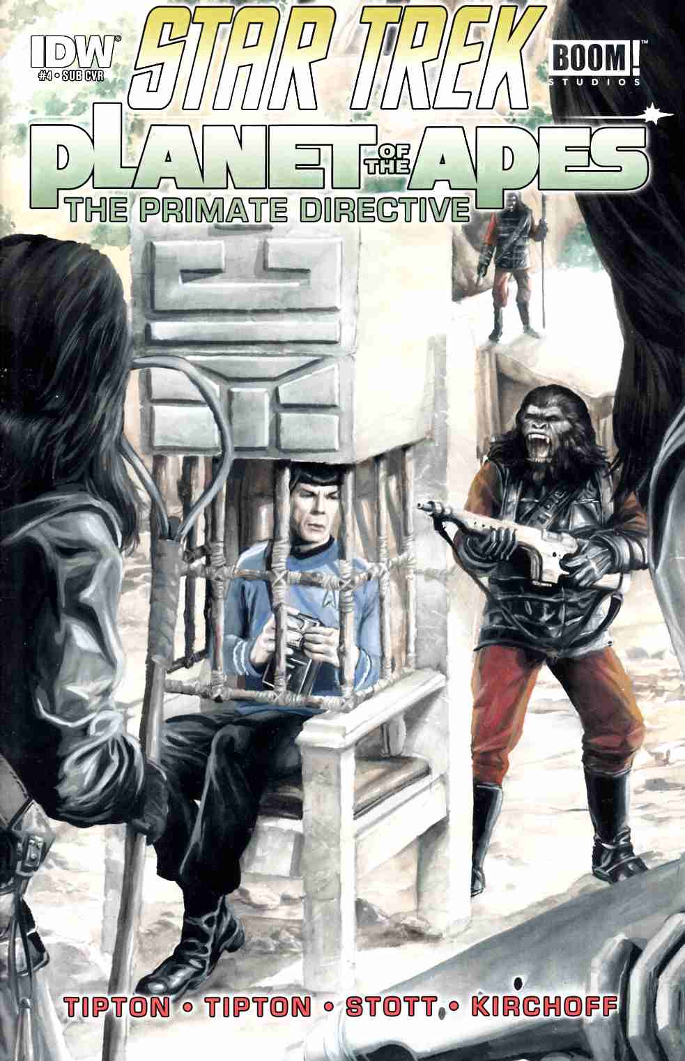 Star Trek Planet of the Apes #4 Subscription Cover [IDW Comic]